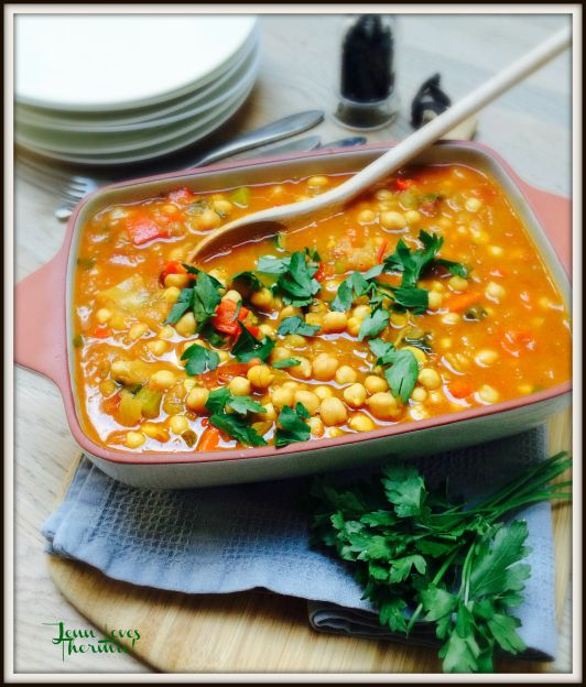 Thermomix Moroccan Stew