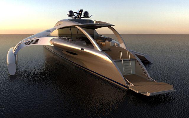Adastra Yacht - John Shuttlewoth - (under construction)