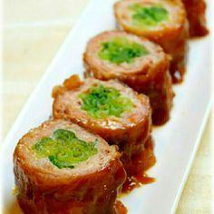 冷めても美味しい!小松菜の豚肉巻き