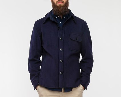 17 best images about c o l l a b o r a t i o n s on for Fidelity cpo shirt jacket