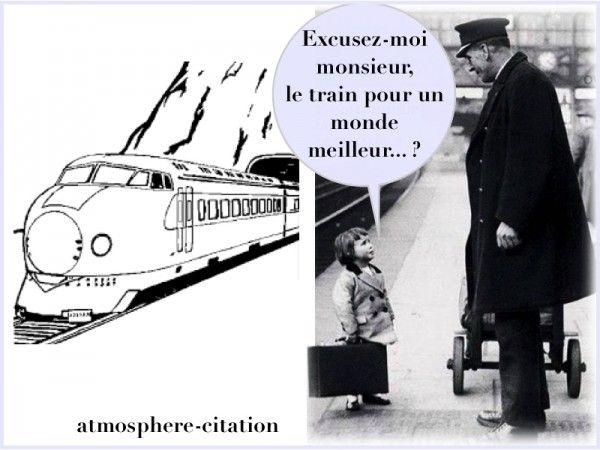 voyage en train On voyage pour changer, non de lieu, mais d'idées - Hippolyte Taine