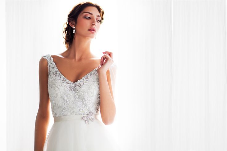 Our gorgeous Giselle gown as featured in Cosmo Bride