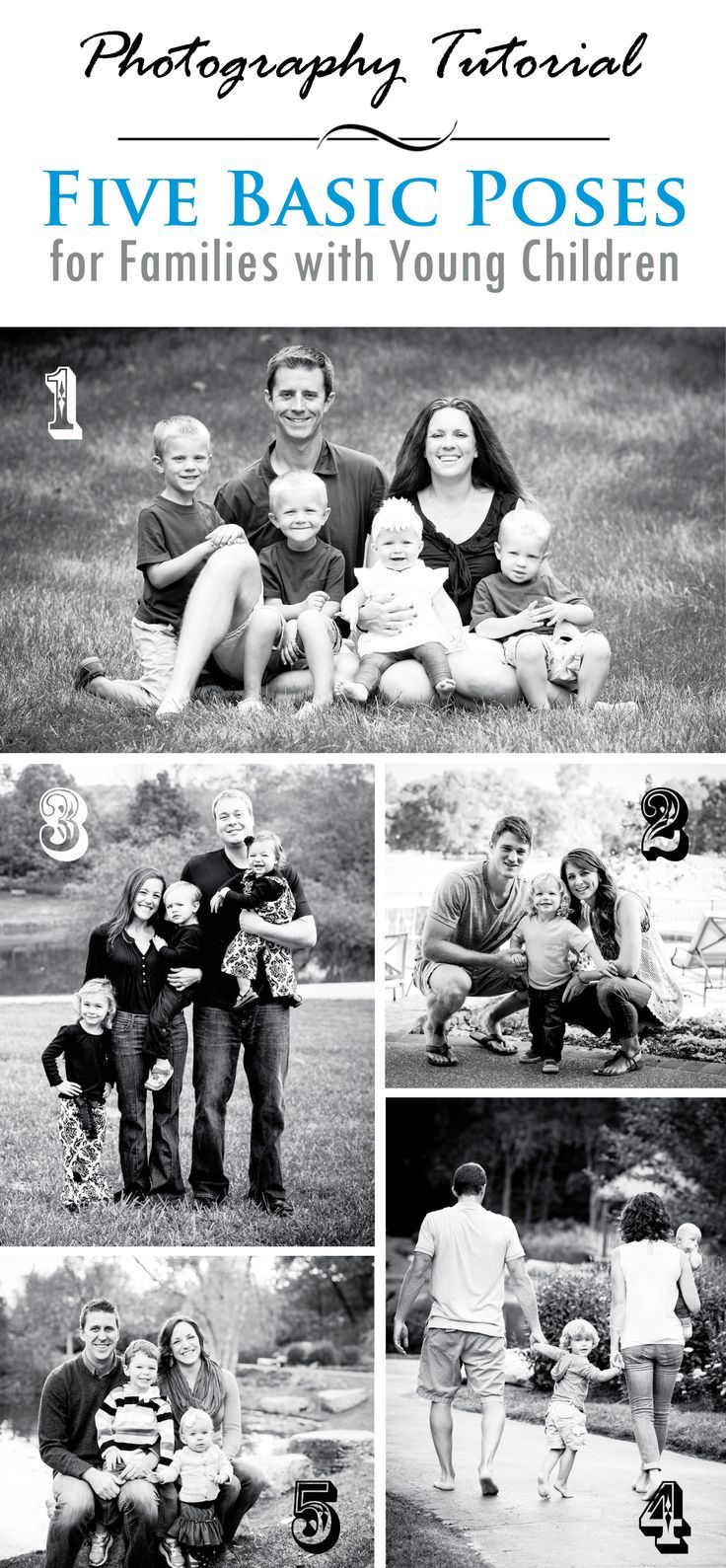 5 Basic Photography Poses for Families with YoungChildren