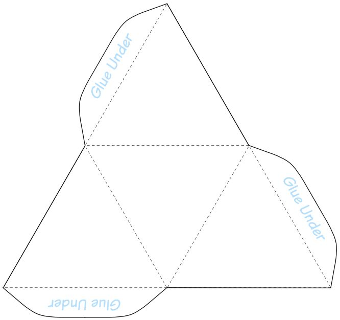It is a graphic of Superb Pyramid Template Printable