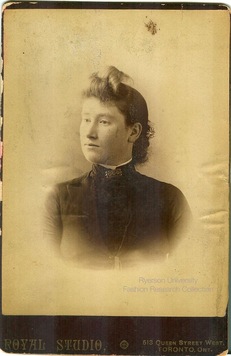 Headshot of a woman. Photographed by Royal Studio of Toronto. FRC 2002.04.254
