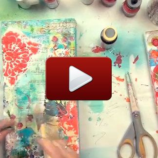 Behind the Art how-to video by mixed-media master Christy Tomlinson http://stampington.com/the-studio/the-studio-how-to-videos/mixed-media%20videos?product_id=4849