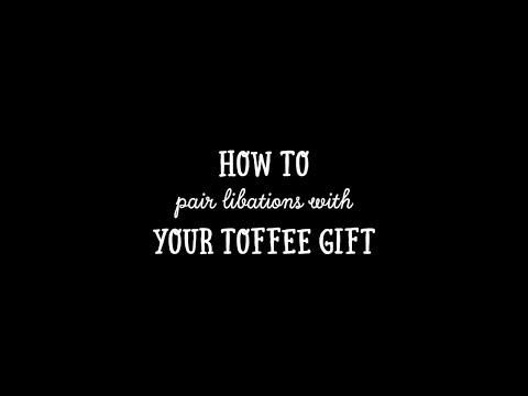 Enstrom: How to pair libations with your toffee gift