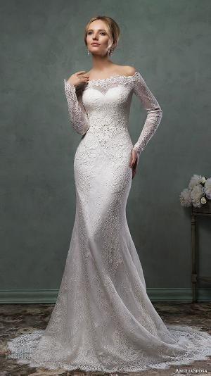 Amelia Sposa 2016 Wedding Dresses | Wedding Inspirasi by aileen