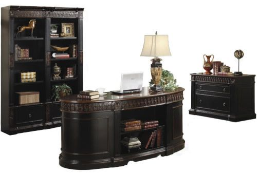 Three Piece Executive Office Set by Coaster Furniture