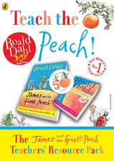 James and the Giant Peach Teacher's Resource Pack from Teacher Vision. Perfect for Roald Dahl Day on September 13 (Free)