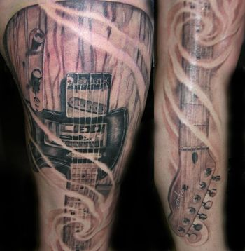 17 best images about tats on pinterest unique tattoos music tattoos and cool guitar. Black Bedroom Furniture Sets. Home Design Ideas