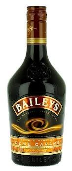 Crème Caramel Baileys. Liqueur. Ireland.