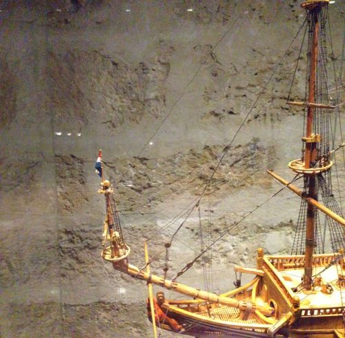 WA Shipwreck Galleries museum - replica ship