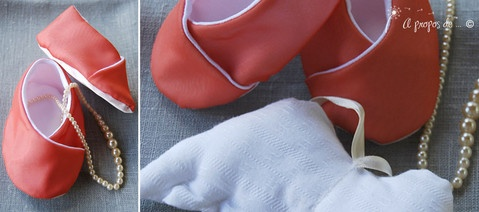 Petits pieds Mirabelle Cute handmade baby shoes by Atelier Faggi Italy