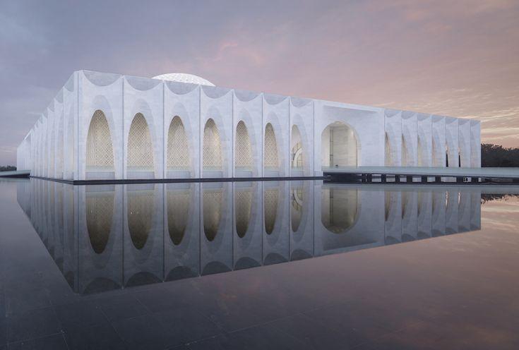 Gallery of Da Chang Muslim Cultural Center / Architectural Design & Research Institute of Scut - 9