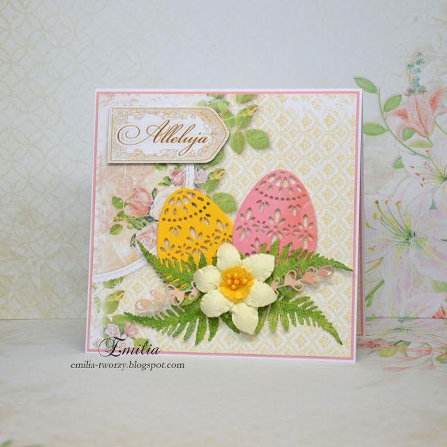 Emilia tworzy: Kartka wielkanocna/Easter card