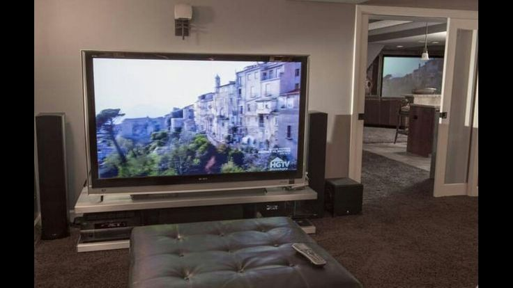 90 inch tv is exactly what i want home theater in 2019 - What size tv to get for living room ...