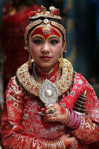 Nepali Kumari, we pray her as living goddess.