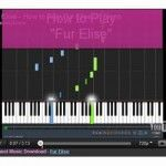 "How to play ""Fur Elise"" on piano, comes with Free downloadable sheet music."
