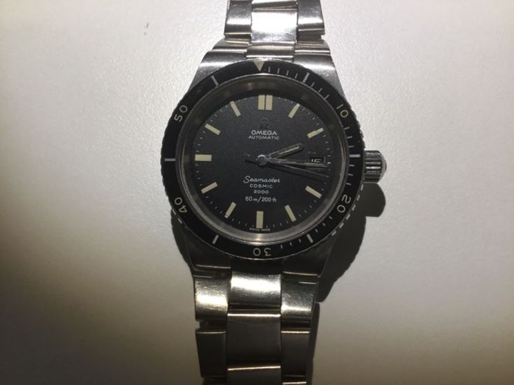 Vintage Omega Seamaster Cosmic 2000 Automatic,Stainless Steel 60m Divers Watch  | eBay