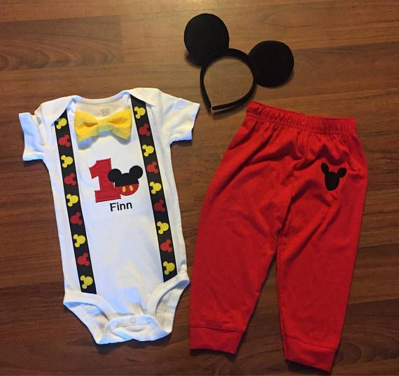 Pin On Mickey Mouse 1st Birthday Party Boy