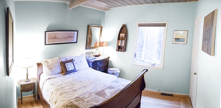 Guest bedroom rendering: Paint colors Sherwin Williams
