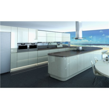 New kitchen. im not keen but Adam loves it. Milano by Symphony New York Ivory.