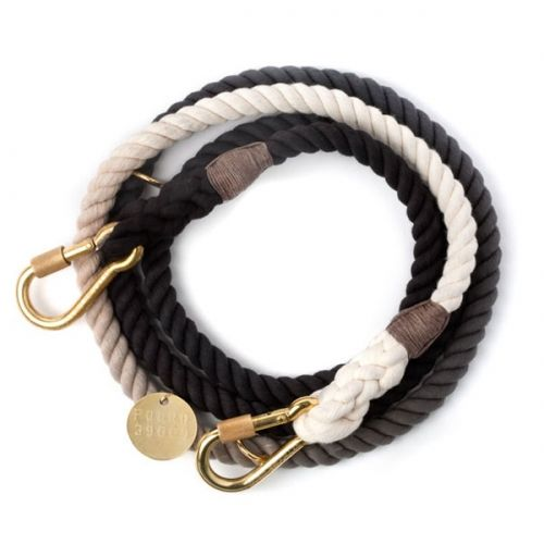 Found My Animal Black Ombre Rope Dog Lead - Object of Desire Shop