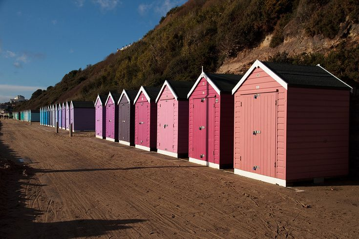 Because even the beach huts scrub up well. | 54 Reasons You Should Move To…