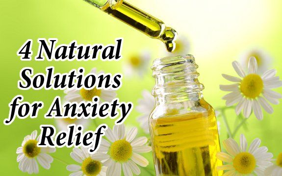 Anxiety is truly an epidemic. While there are several different approaches to natural anxiety relief, here are just 4 effective natural solutions.