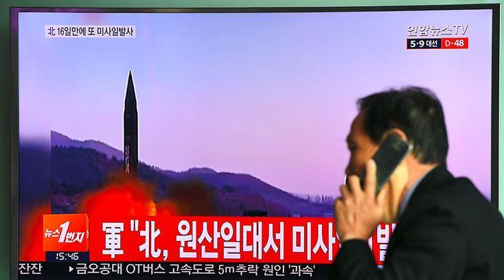 DEVELOPING: North Korea fires ballistic missile ? Seoul