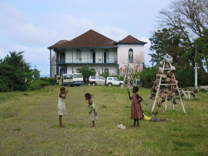Rope jump. - , Sao Tome