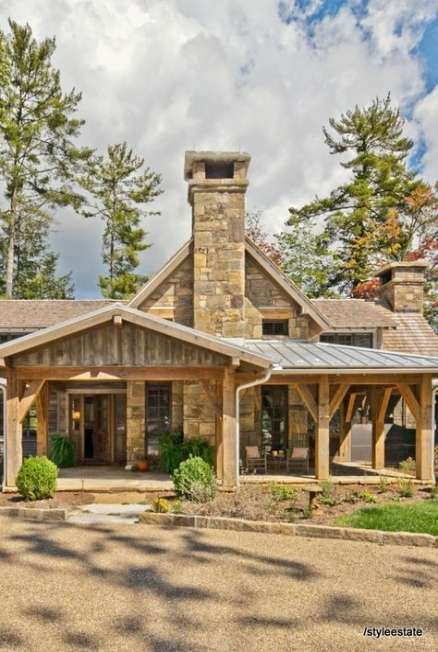 New home exterior mountain lodges Ideas #exterior #home