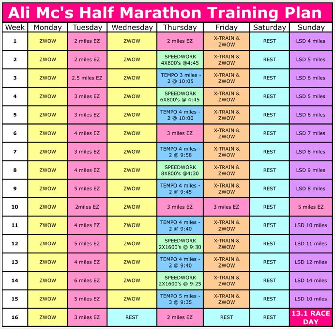 @Heather Creswell Milam - this one is a 16 week plan, which is what we have..  half-marathon-plan