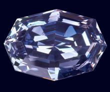 Argyle Pink Diamonds // Rohan Jewellery // Select Argyle Atelier // OCEAN SEER // 1.41ct Octagon Shaped Fancy Deep Gray Violet
