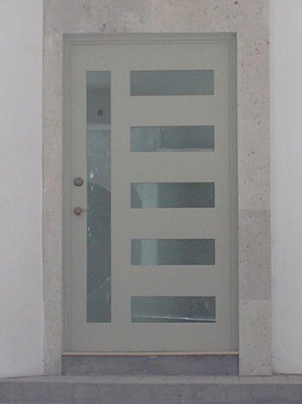 Las 25 mejores ideas sobre puertas de herreria modernas for Puertas metalicas modernas para exterior