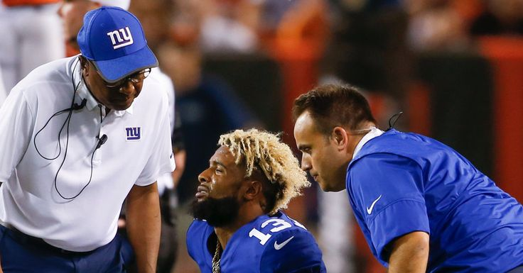 Giants' Odell Beckham Jr. and Brandon Marshall Avoid Major Injuries