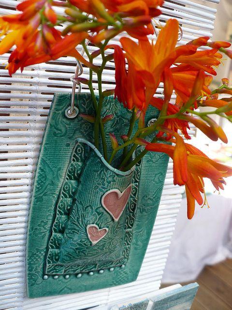 colgador para flores  Wall Pocket
