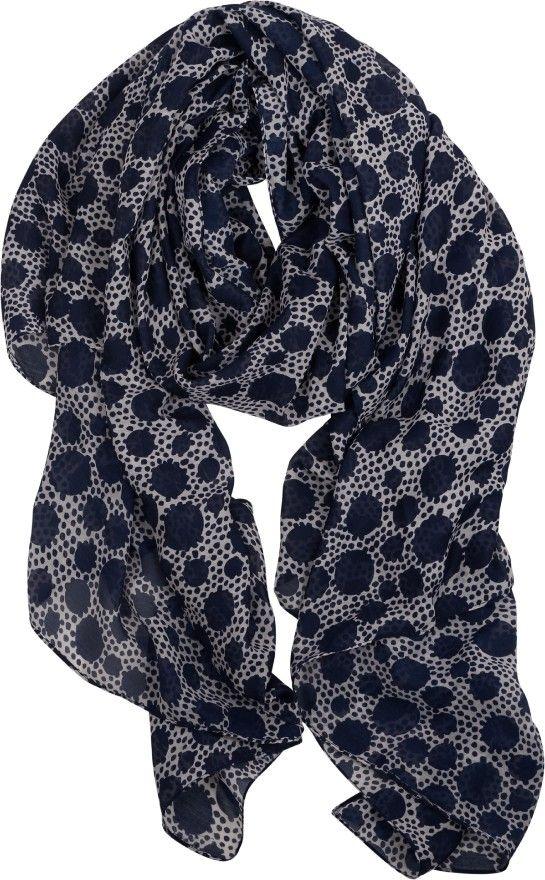 Sjaal met stippen