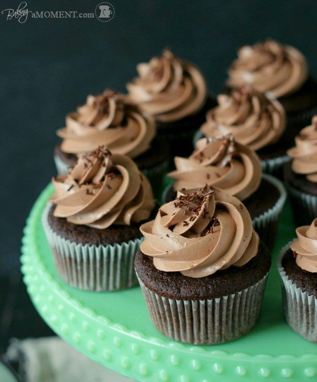 Simply Perfect Chocolate Cupcakes - DELICIOUS, but took 19-21 minutes to cook in our oven. - TJ Feb. 2016