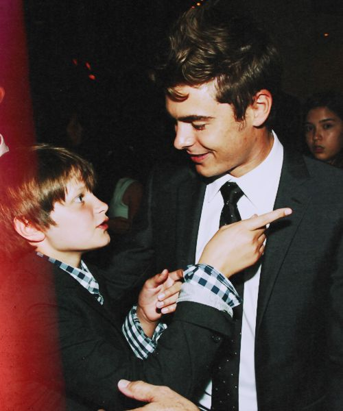 Charlie St. Cloud Premiere. they are just too adorable.