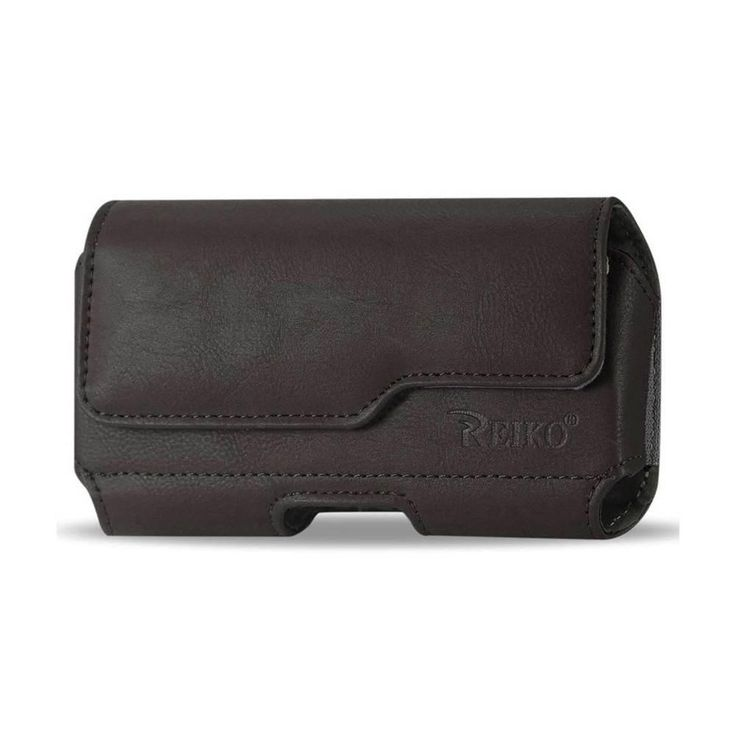 Reiko Horizontal Z Lid Leather Pouch Samsung Galaxy Note 3/ N900A/ N900V/ N9000/ N9002/ N9005/ N900P/ N900T Plus Brown