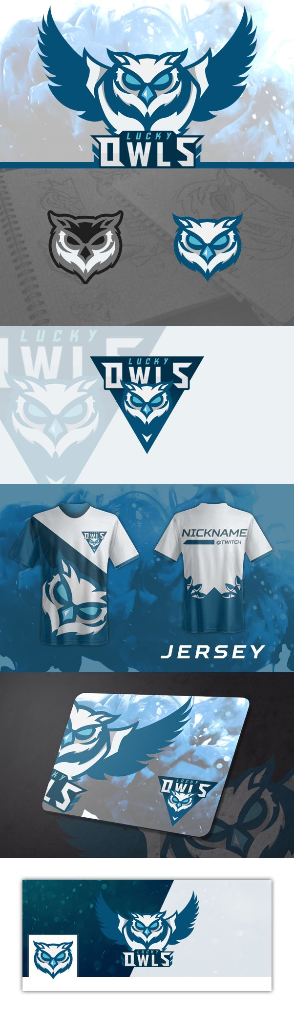 Lucky Owls Gaming (Concept logo) on Behance