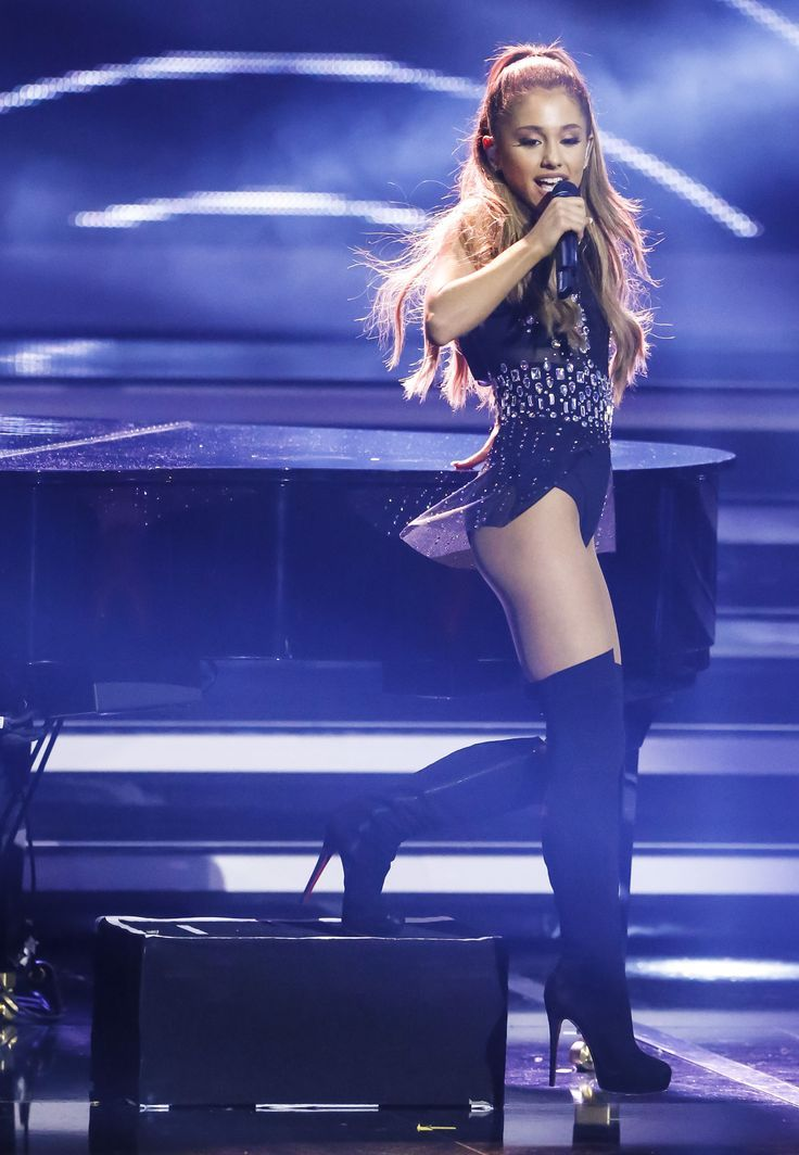 """Hasil gambar untuk Ariana Grande-Butera (/ˌɑːriˈɑːnə ˈɡrɑːndeɪ/;[3] born June 26, 1993)[4] is an American singer, songwriter and actress. She began her career in 2008 in the Broadway musical 13, before playing the role of Cat Valentine in the Nickelodeon television series Victorious (2010–2013) and in the spinoff Sam & Cat (2013–2014). She has also appeared in other theatre and television roles and has lent her voice to animated television and films.  Grande's music career began in 2011 with the soundtrack Music from Victorious. In 2013, she released her first studio album Yours Truly, which entered atop the US Billboard 200. The album's lead single, """"The Way"""", debuted in the top 10 of the Billboard Hot 100, with critics comparing her wide vocal range to that of Mariah Carey.  Grande's second studio album, My Everything (2014), entered at number one in the US and charted in the top 10 in 24 other countries. With the lead single """"Problem"""" and several other singles, she was continuously in the top 10 of the Billboard Hot 100 for 34 weeks and had the most top 10 singles of any artist in 2014. The next year, Grande gave her first world tour, The Honeymoon Tour, to promote My Everything. In 2016, she released her third studio album Dangerous Woman, which charted at number two on the Billboard 200. Its title track debuted at number 10 on the Billboard Hot 100, making Grande the first person in the history of that chart to have the lead singles from each of their first three albums debut within the top 10 in the US.[5] In 2017, Grande gave her international Dangerous Woman Tour. She released her fourth studio album, Sweetener, in August 2018."""