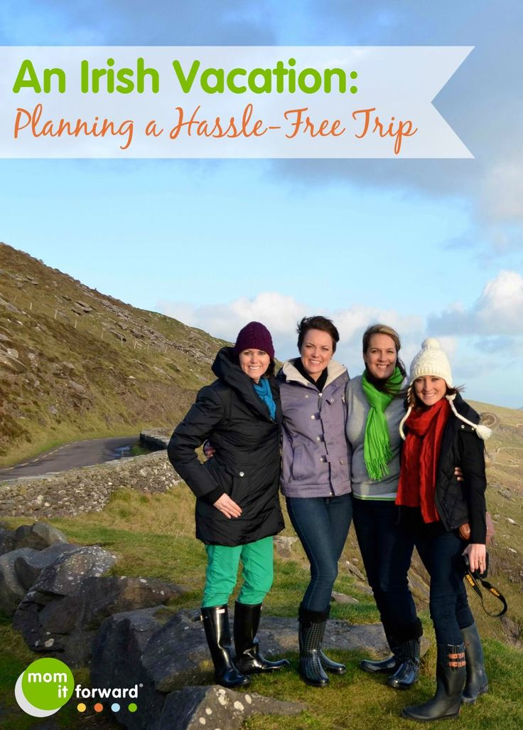 An Irish Vacation Planning a Hassle-Free Trip - good tips. #irelandbound