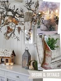 rustic christmas decor - Google Search