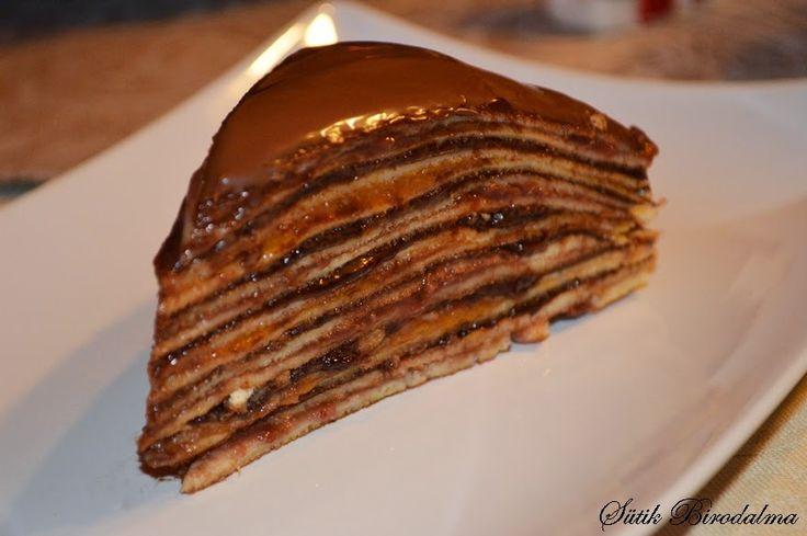 SÜTIK BIRODALMA: Csúsztatott palacsinta / Pancakes
