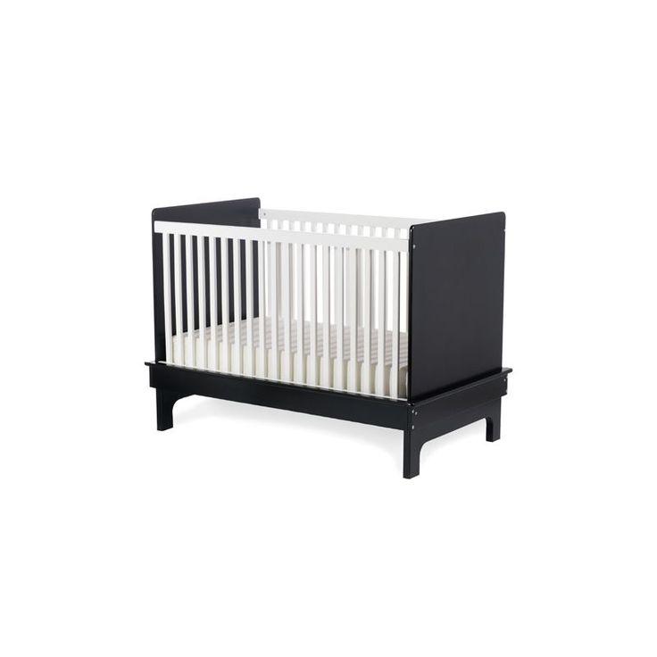 Sahara Crib in Ebony/White