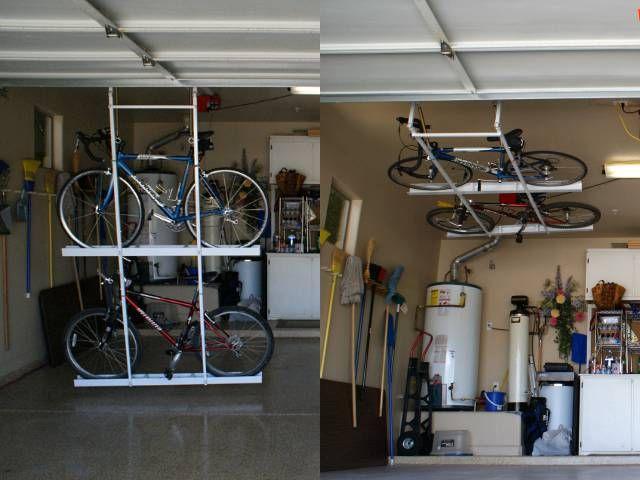Horizontal Double Bike Lift