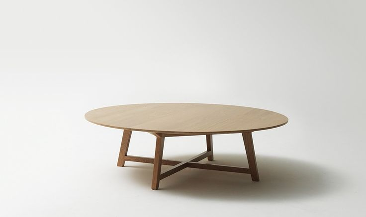 44 B Coffee Table With A Timber Top Iko From Jardan
